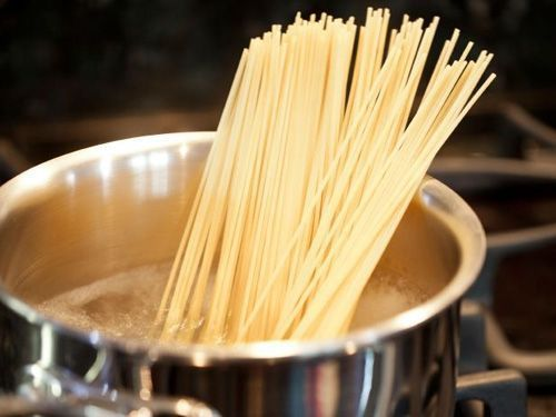 errores al cocer espaguetis