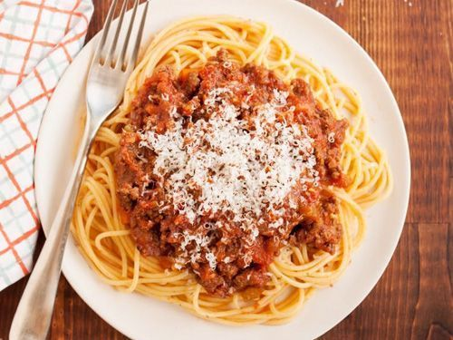 Receta de espaguetis a la boloñesa fácil