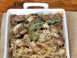 Espaguetis con boletus edulis deshidratados