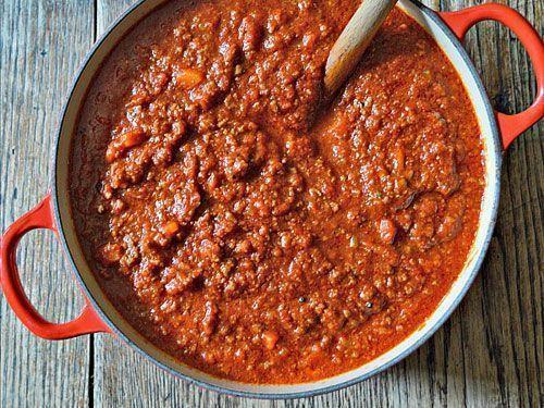 Errores salsa boloñesa