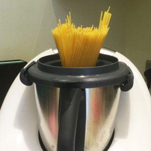 Cómo cocer espaguetis en la Thermomix